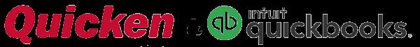 Quicken & Intuit Quickbooks logo
